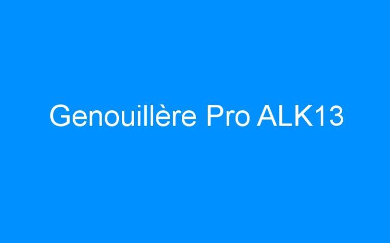 Genouillère Pro ALK13