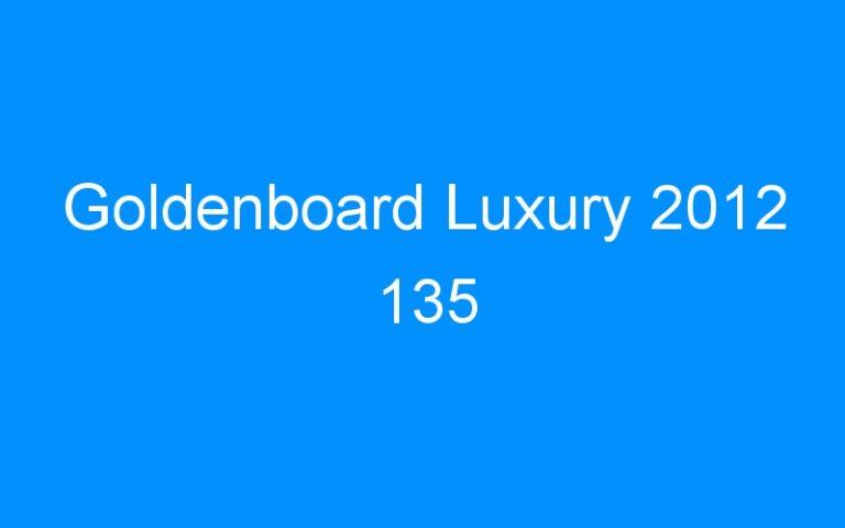 Goldenboard Luxury 2012 135