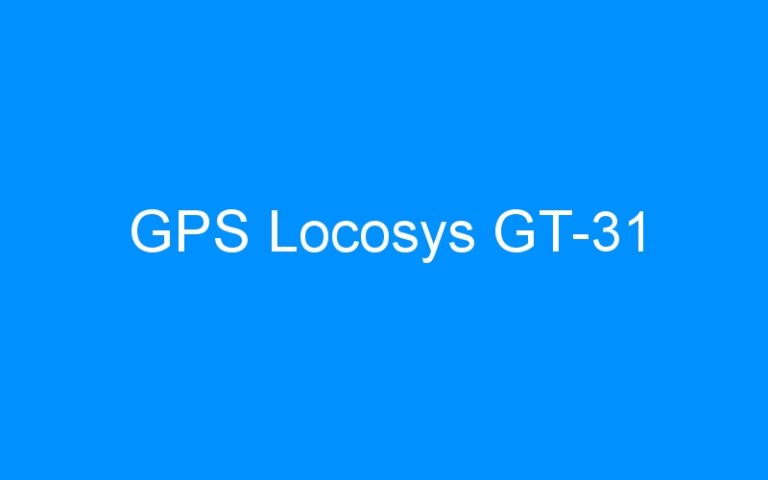 GPS Locosys GT-31