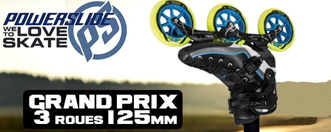 Roue roller RollX XDUAL 2016