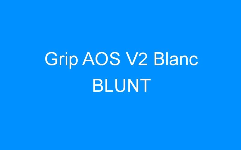 Grip AOS V2 Blanc BLUNT