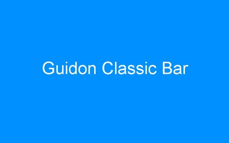 Guidon Classic Bar