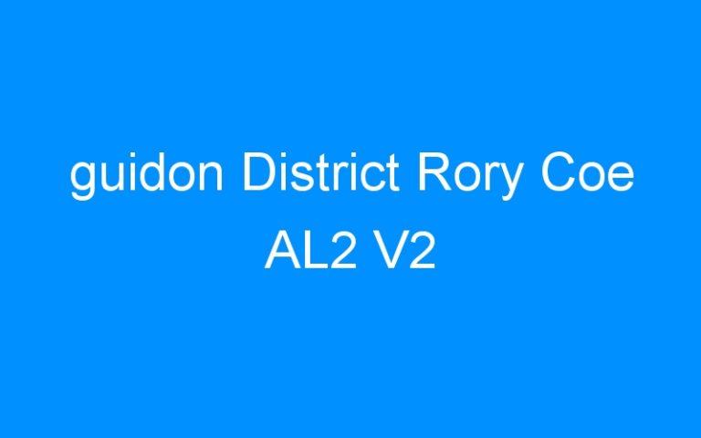 guidon District Rory Coe AL2 V2