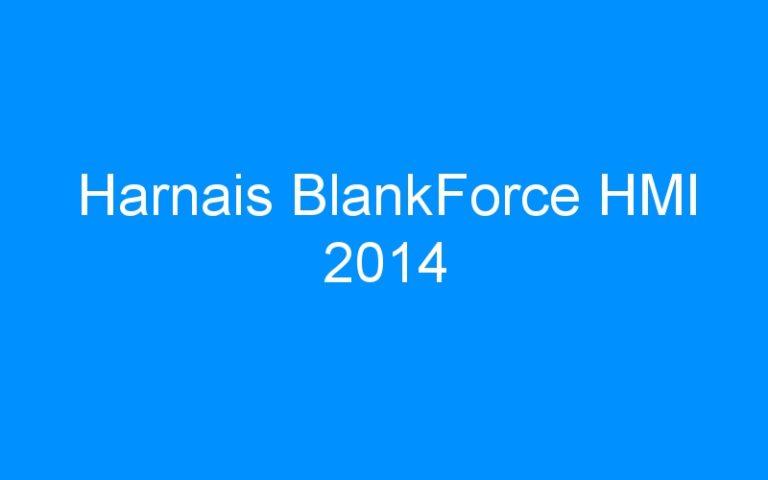 Harnais BlankForce HMI 2014