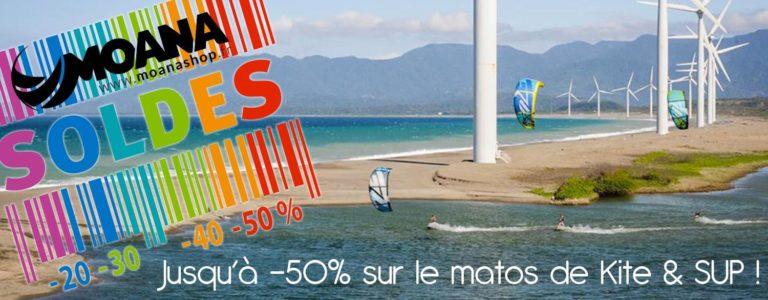 Soldes : jusqu'à -50% sur le matos de kite & SUP !