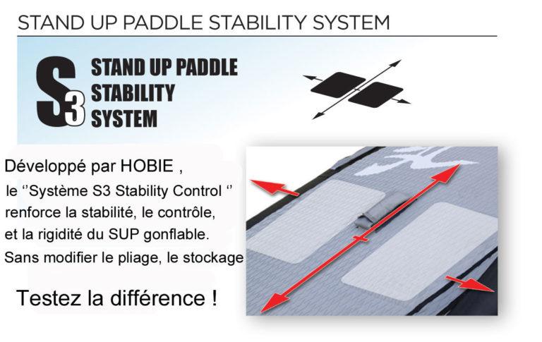 SUP gonflable Hobie Adventure 9'6 2014