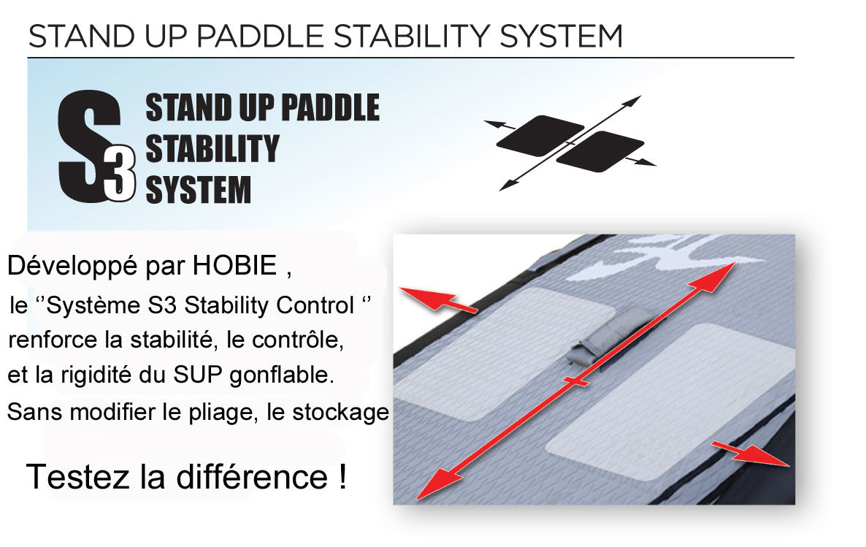 SUP gonflable Hobie Racer 12'6 2014