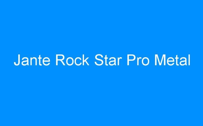 Jante Rock Star Pro Metal