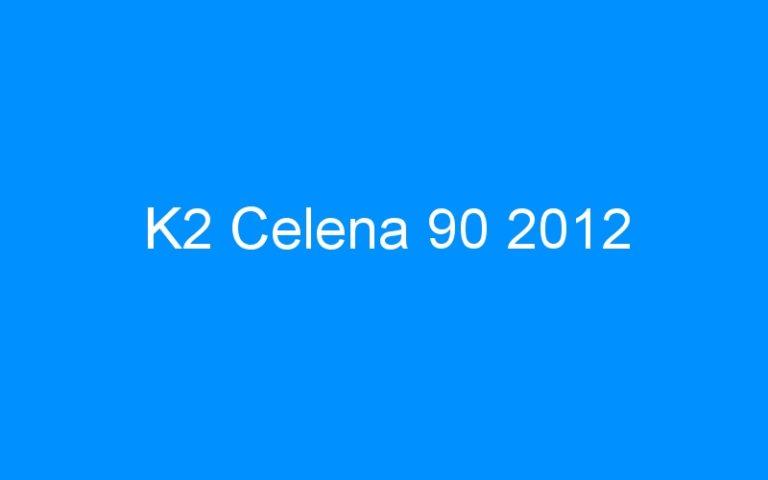 K2 Celena 90 2012