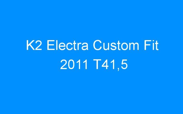 K2 Electra Custom Fit 2011 T41,5