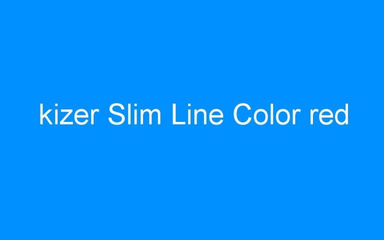 kizer Slim Line Color red