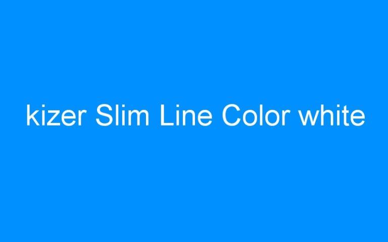 kizer Slim Line Color white
