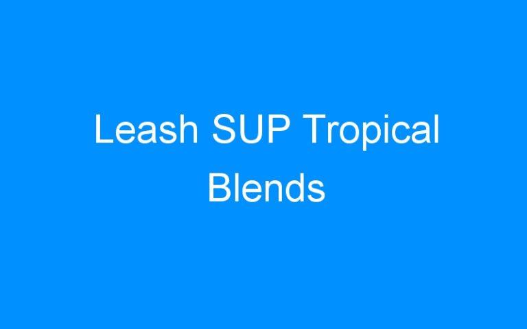 Leash SUP Tropical Blends