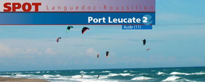 Zone de kitesurf de Port Leucate dans l'Aude (11) : Accès, stat de vents et description