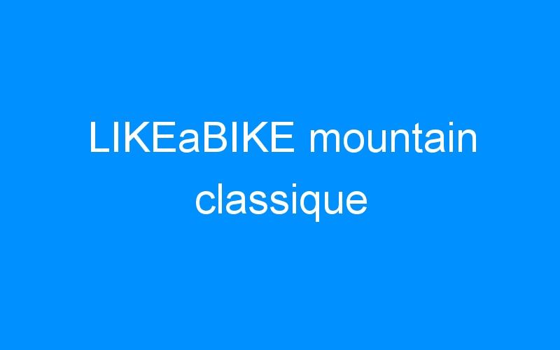 LIKEaBIKE mountain classique