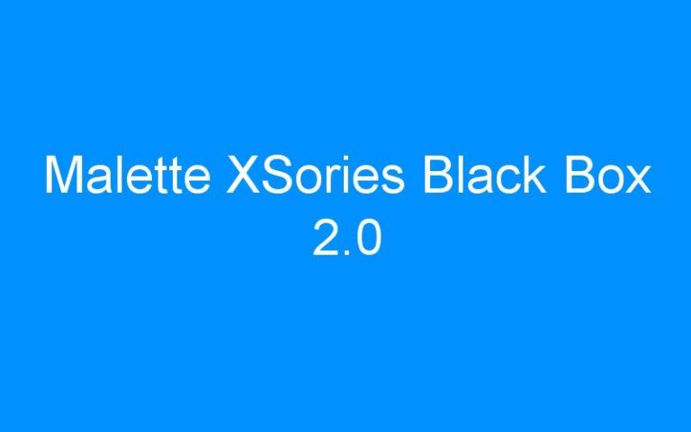 Malette XSories Black Box 2.0