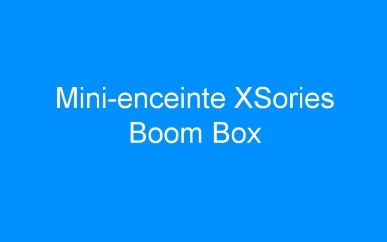 Mini-enceinte XSories Boom Box