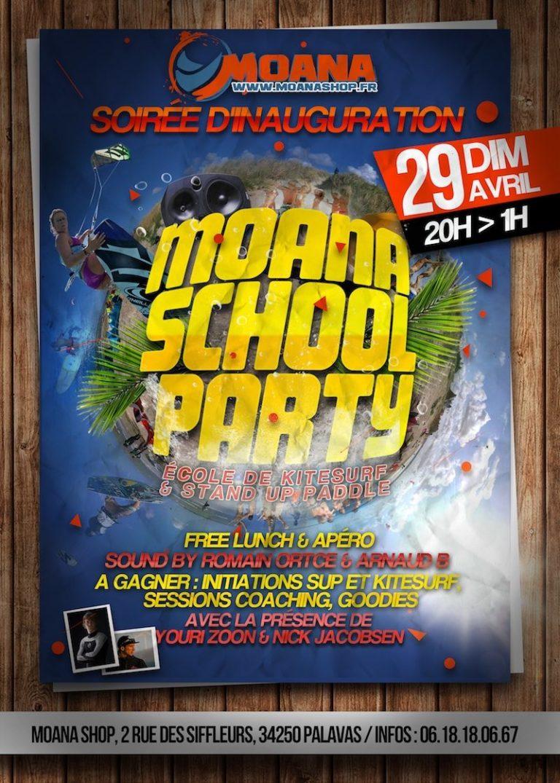 Destock-Cycle.fr School Party : soirée d'inauguration de notre nouvelle école de SUP & Kite !