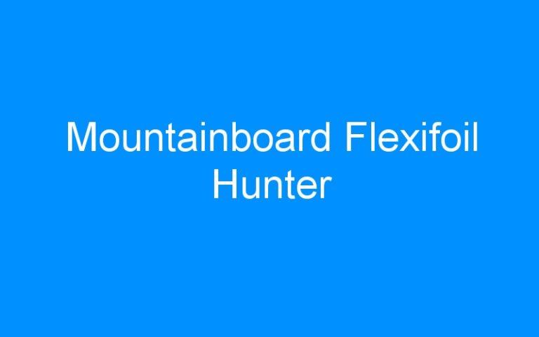Mountainboard Flexifoil Hunter