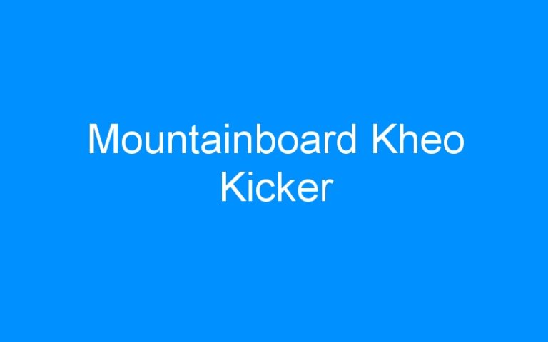 Mountainboard Kheo Kicker