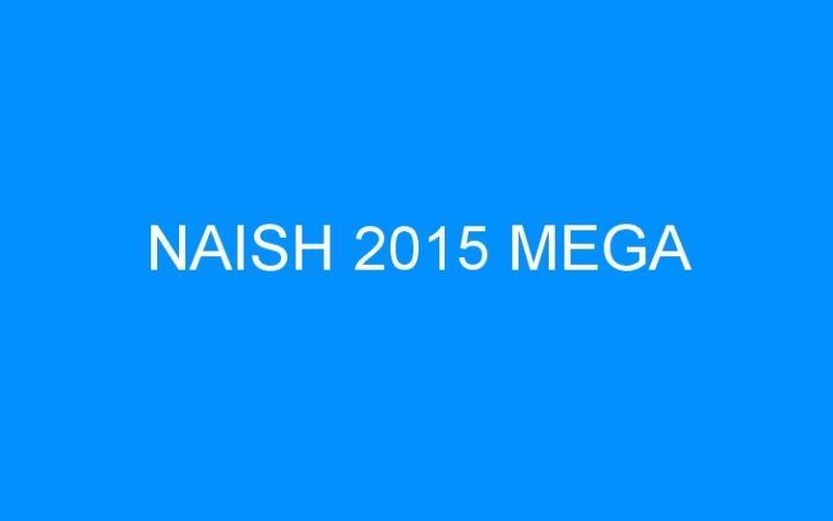 NAISH 2015 MEGA
