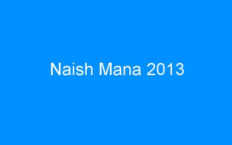 Naish Mana 2013