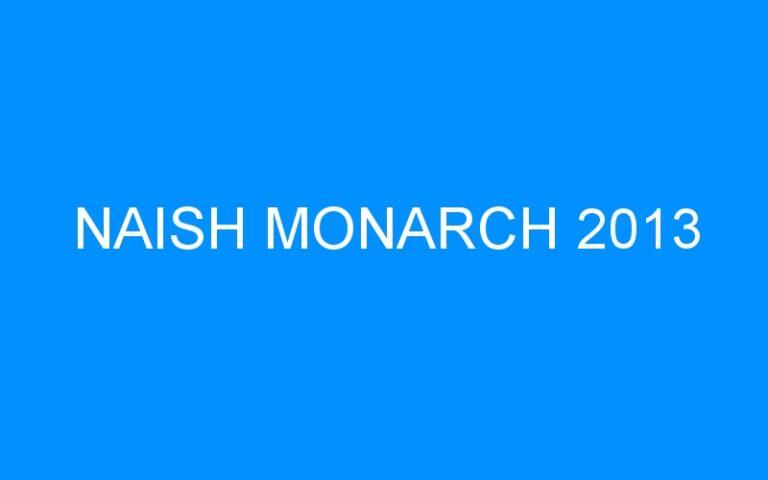 NAISH MONARCH 2013