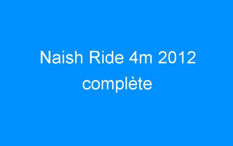 Naish Ride 4m 2012 complète