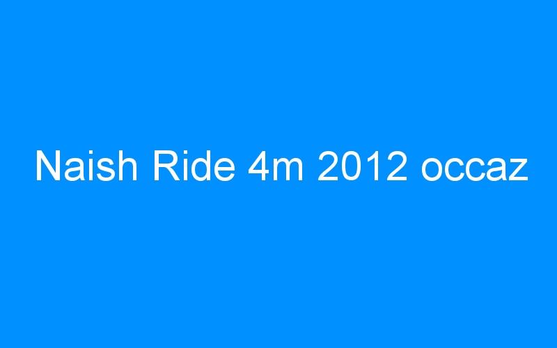 Naish Ride 4m 2012 occaz