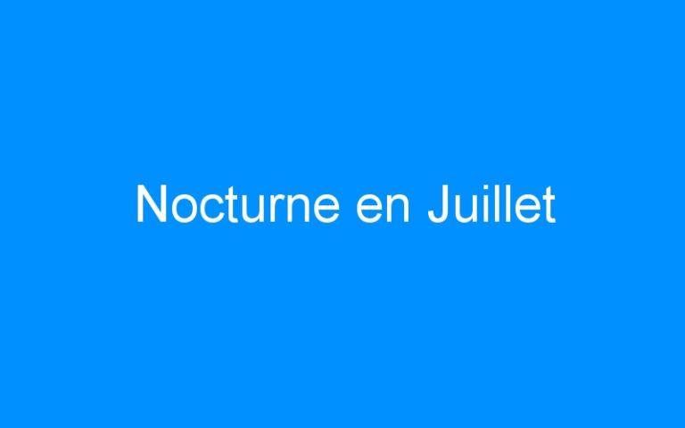 Nocturne en Juillet