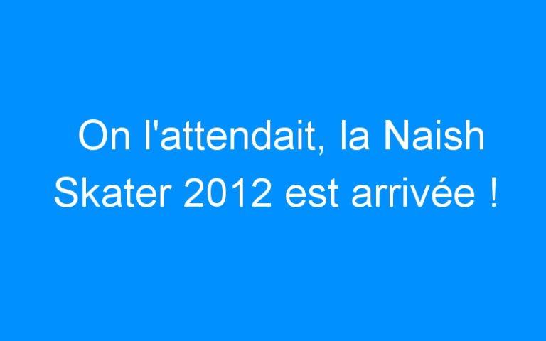 On l'attendait, la Naish Skater 2012 est arrivée !