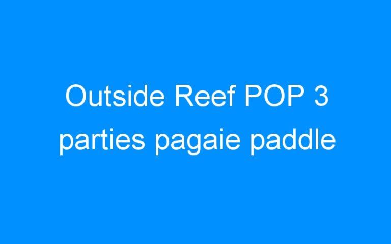 Outside Reef POP 3 parties pagaie paddle