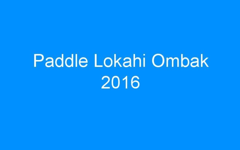 Paddle Lokahi Ombak 2016