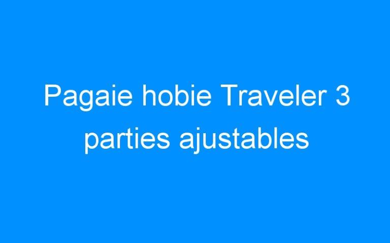 Pagaie hobie Traveler 3 parties ajustables
