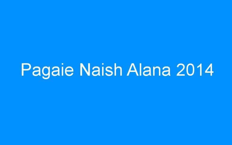 Pagaie Naish Alana 2014