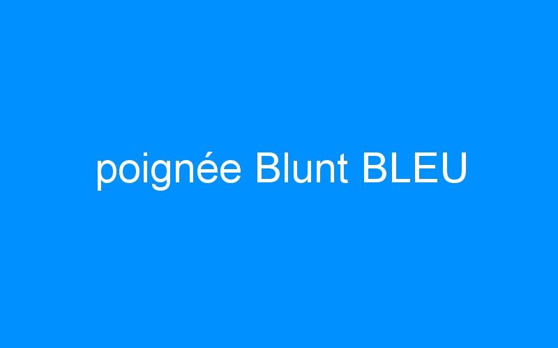 poignée Blunt BLEU
