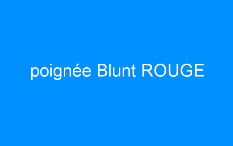 poignée Blunt ROUGE