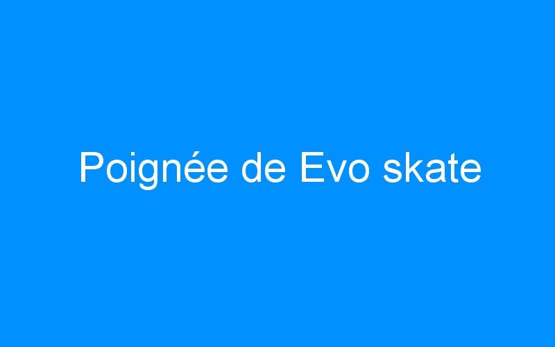 Poignée de Evo skate