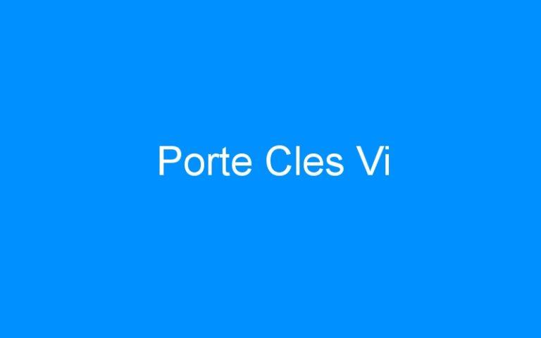 Porte Cles Vi