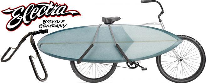 Porte surf pour vélo ou Surf Rack : tendance surf spirit