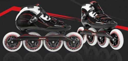 le roller de vitesse Powerslide X skate modele adulte et junior