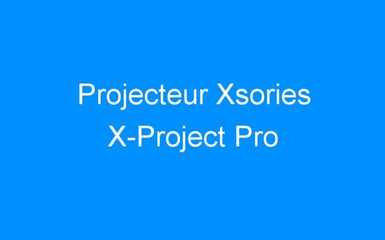 Projecteur Xsories X-Project Pro