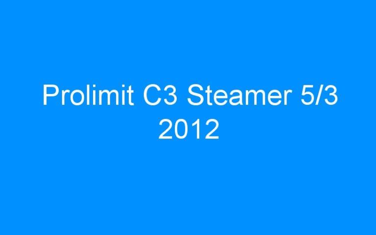 Prolimit C3 Steamer 5/3 2012