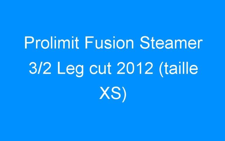 Prolimit Fusion Steamer 3/2 Leg cut 2012 (taille XS)