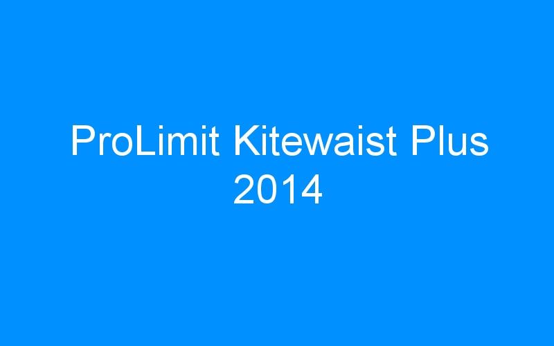 ProLimit Kitewaist Plus 2014