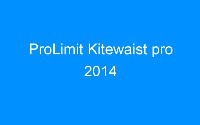 ProLimit Kitewaist pro 2014