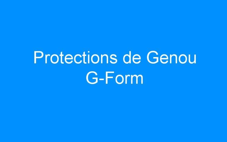 Protections de Genou G-Form