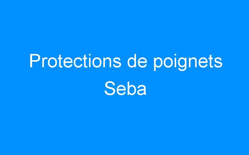 Protections de poignets Seba