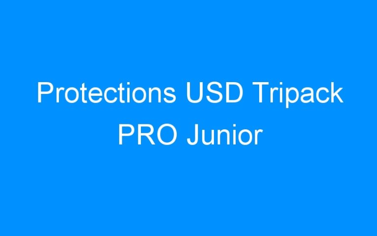 Protections USD Tripack PRO Junior