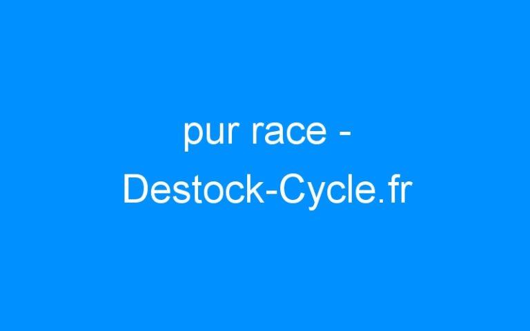 pur race – Destock-Cycle.fr